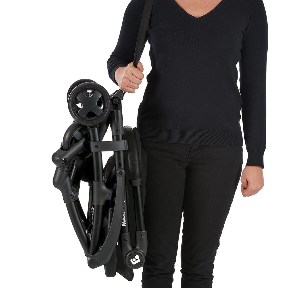 Maxi Cosi Laika Nomad Black Easy To Carry