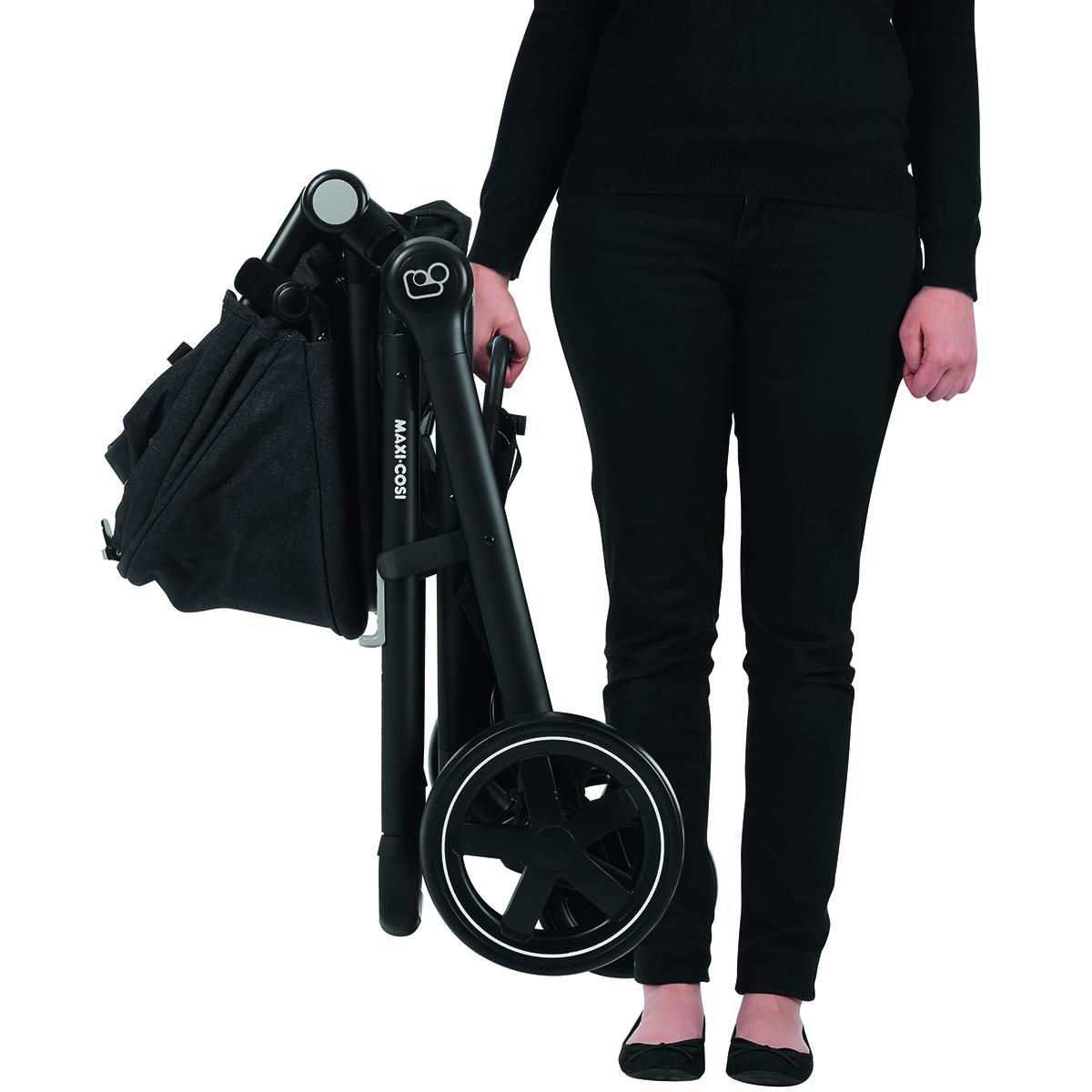 Maxi Cosi Zelia Nomad Black Easy To Carry