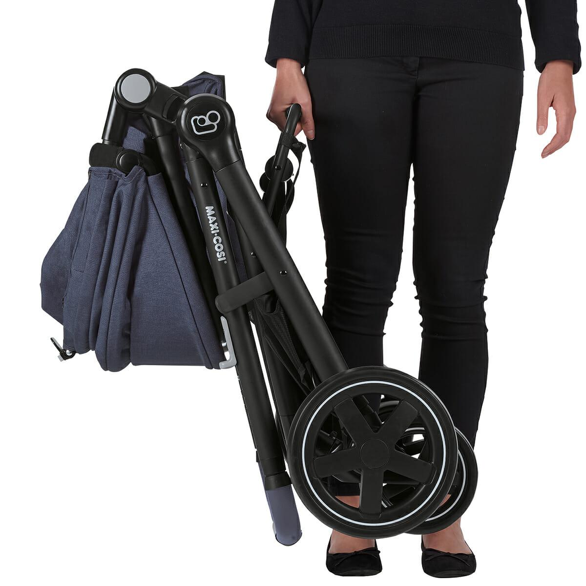 Maxicosi Stroller Travelsystem Zelia Blue Nomadblue Lightweight