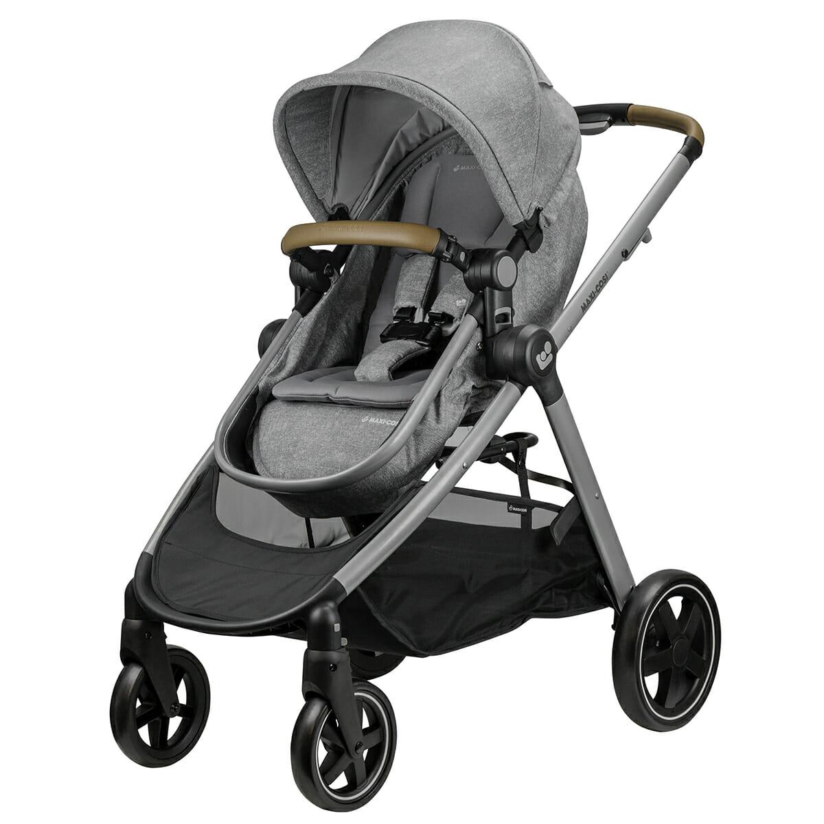 Maxi Cosi Zelia Nomad Grey Front Angle