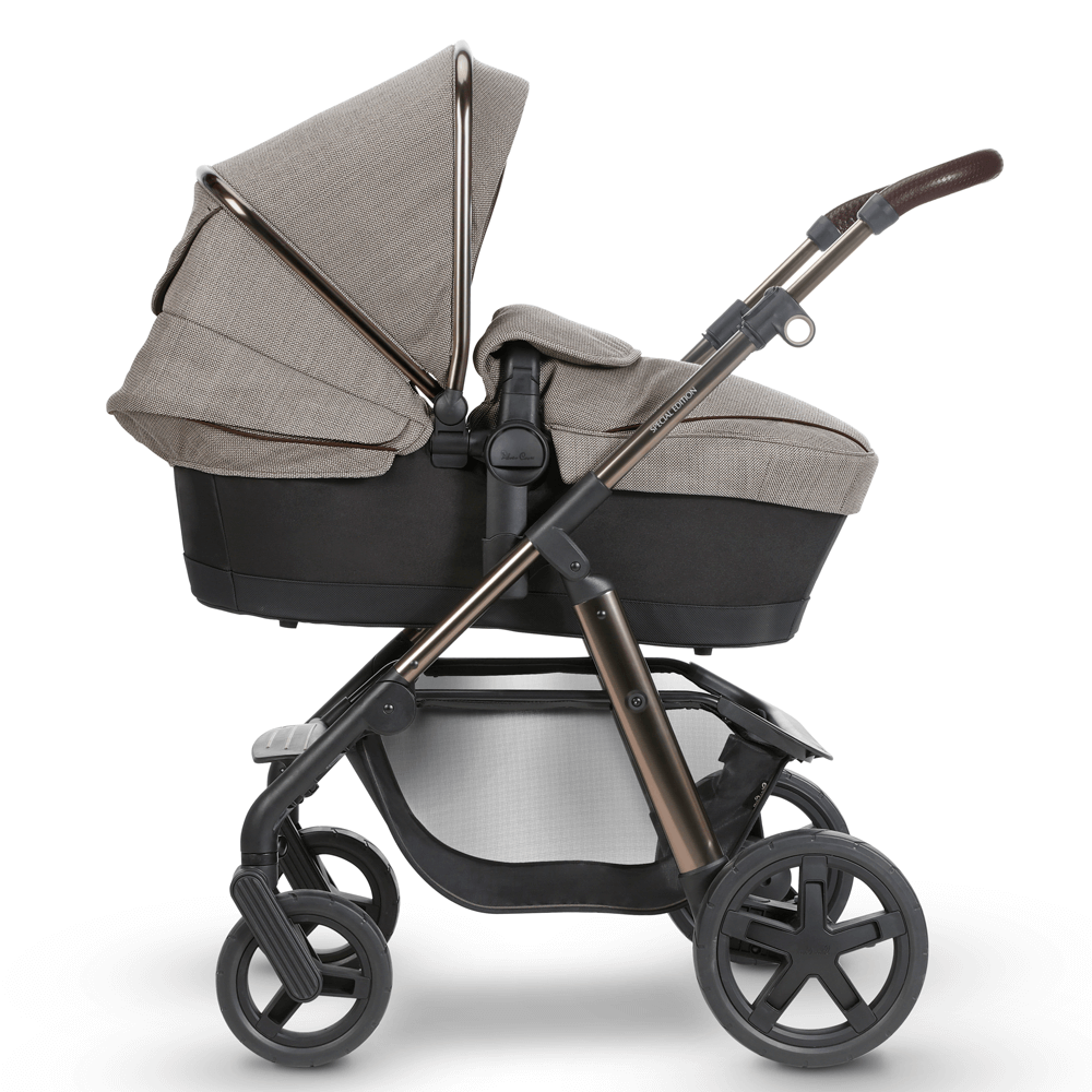 Silver Cross Special Edition Expedition side pram FLIPPED