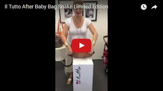 Il Tutto After Baby Bag Snake Limited Edition Video Review