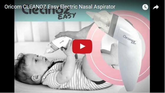 Oricom CLEANOZ Easy Nasal Aspirator Video