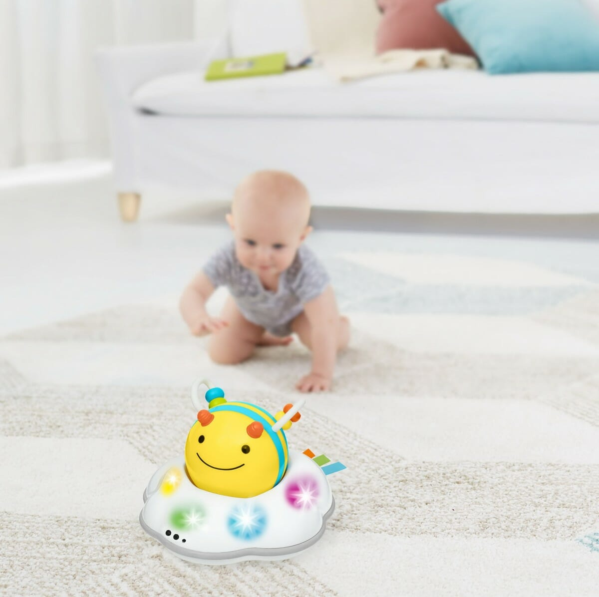 Skip Hop Explore & More Follow Bee Crawl Toy Lifestyle