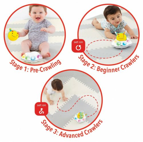Skip Hop Explore & More Follow Bee Crawl Toy Stages