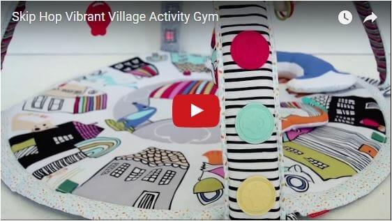 Skip Hop Vibrant Village Activity Gym Video