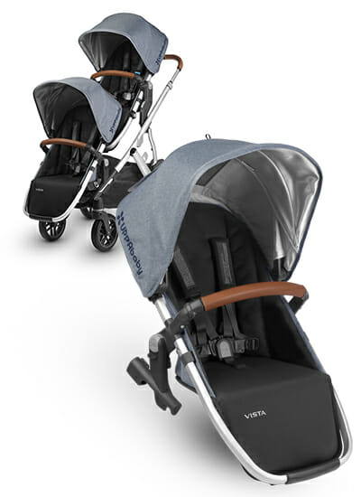 Uppababy Vista Rumble Seat Gregory