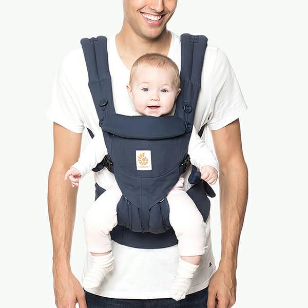 ErgoBaby Omni 360 Baby Carrier Midnight Blue-Dad