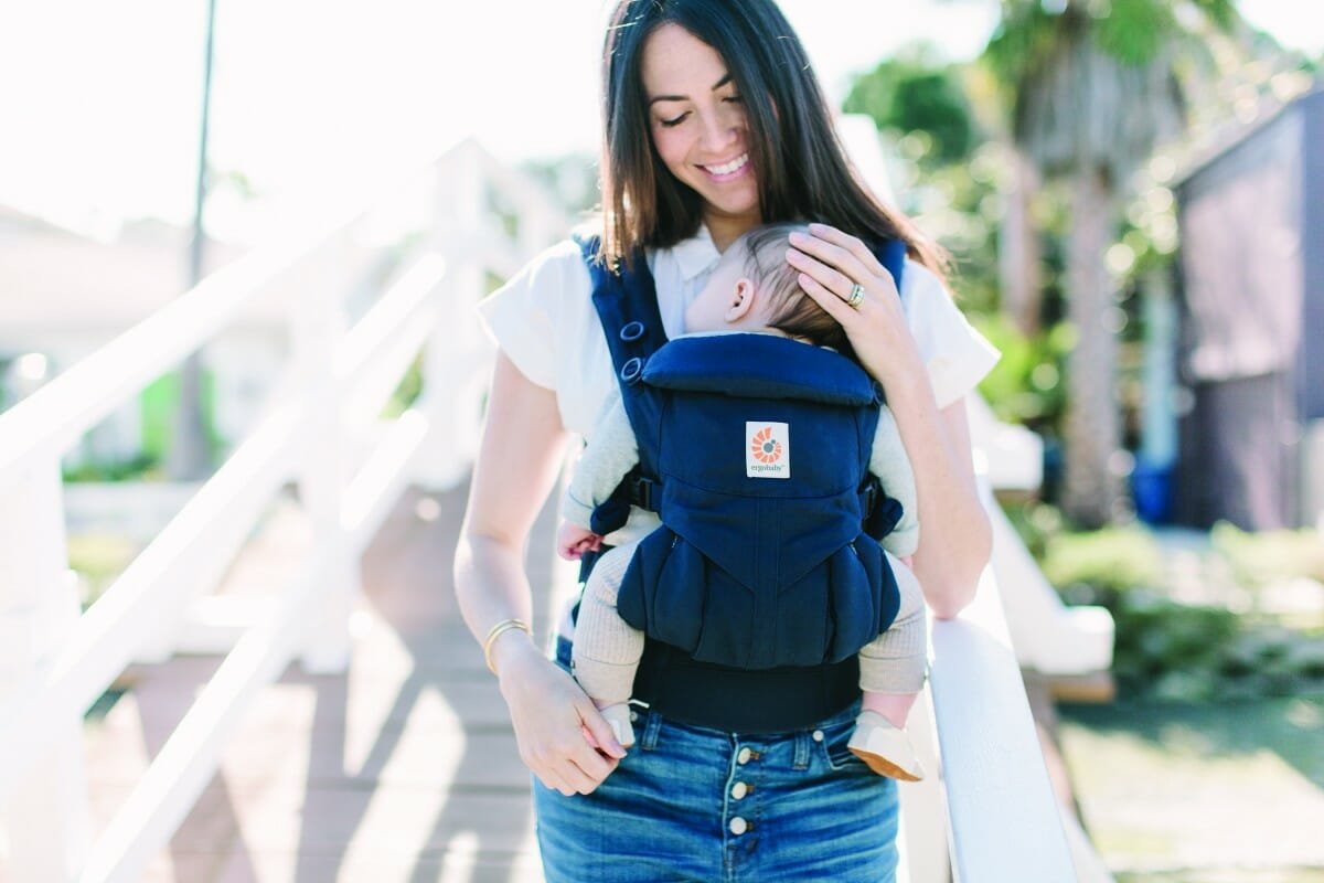 ErgoBaby Omni 360 Baby Carrier Midnight Blue-LIFE-1