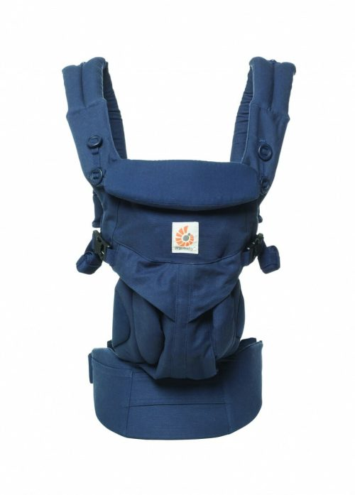 ErgoBaby Omni 360 Baby Carrier Midnight Blue-front view