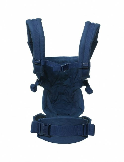 ErgoBaby Omni 360 Baby Carrier Midnight Blue rear view