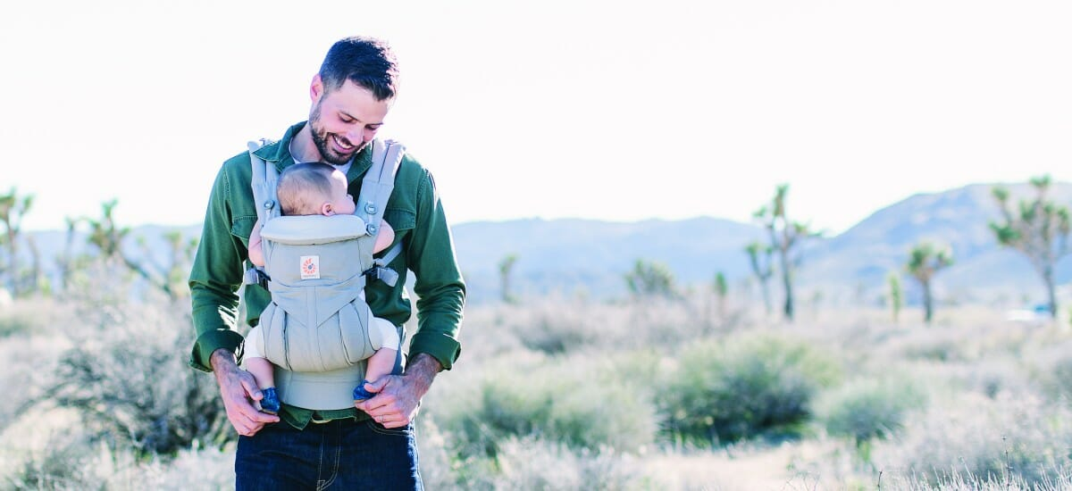 ErgoBaby Omni 360 Baby Carrier Peral Grey-LIFE-3