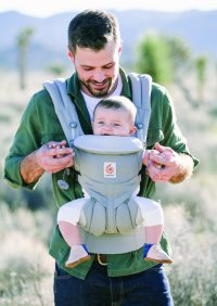 ErgoBaby Omni 360 Baby Carrier Peral Grey-LIFE-5