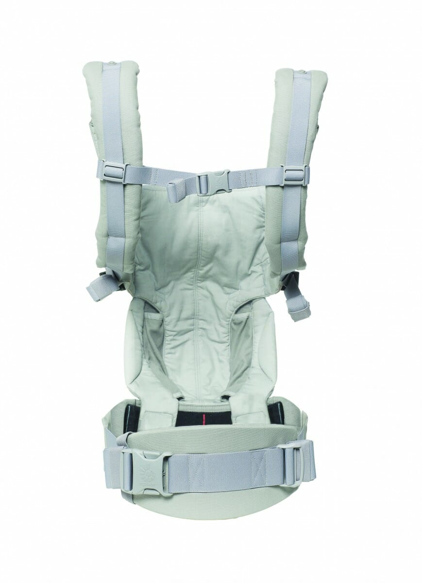 ErgoBaby Omni 360 Baby Carrier Peral Grey-rear view