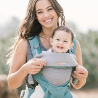 Ergobaby 360 Baby Carrier Cool Air Mesh Icy Mint Lifestyle
