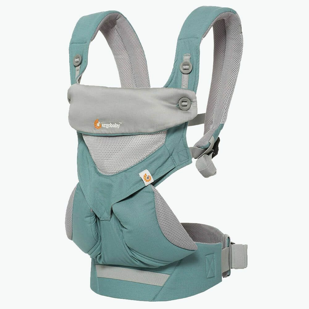 Ergobaby 360 Baby Carrier Cool Air Mesh Icy Mint