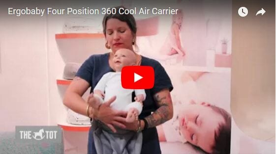 Ergobaby Four Position 360 Cool Air Carrier Video