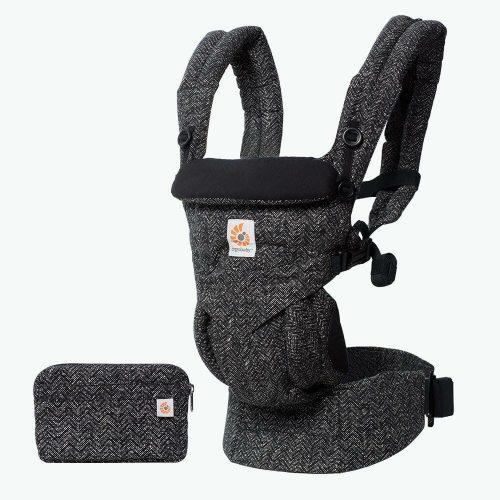 Ergobaby Omni 360 Baby Carrier Herringbone Lifestyle