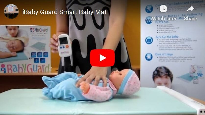 Ibaby Guard Smart Baby Mat Video