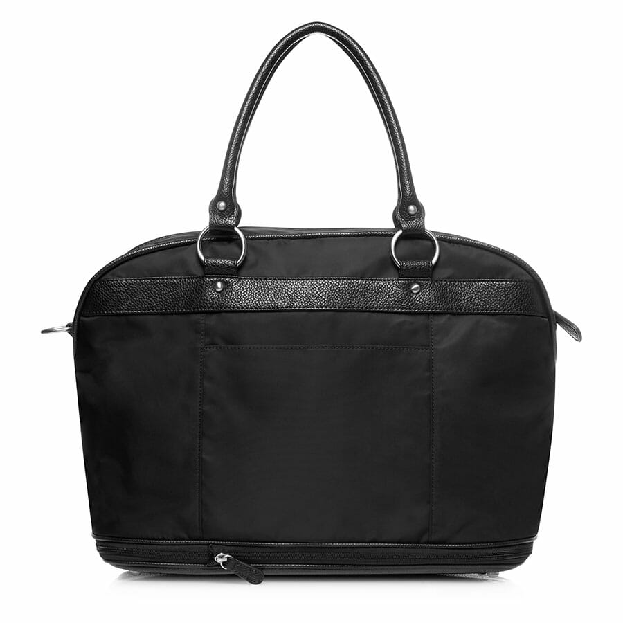 Il Tutto Carrie Weekender Tote BLACK BACK