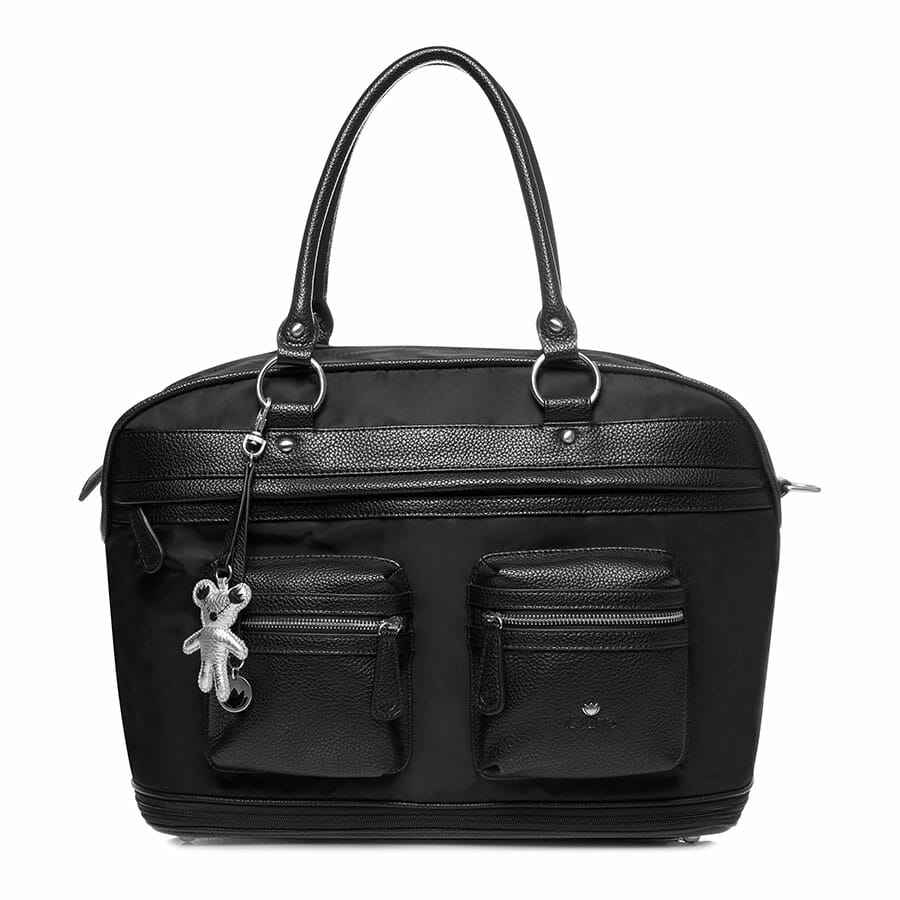 Il Tutto Carrie Weekender Tote BLACK FRONT