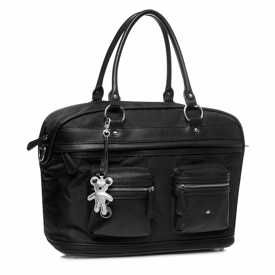 Il Tutto Carrie Weekender Tote BLACK SIDE