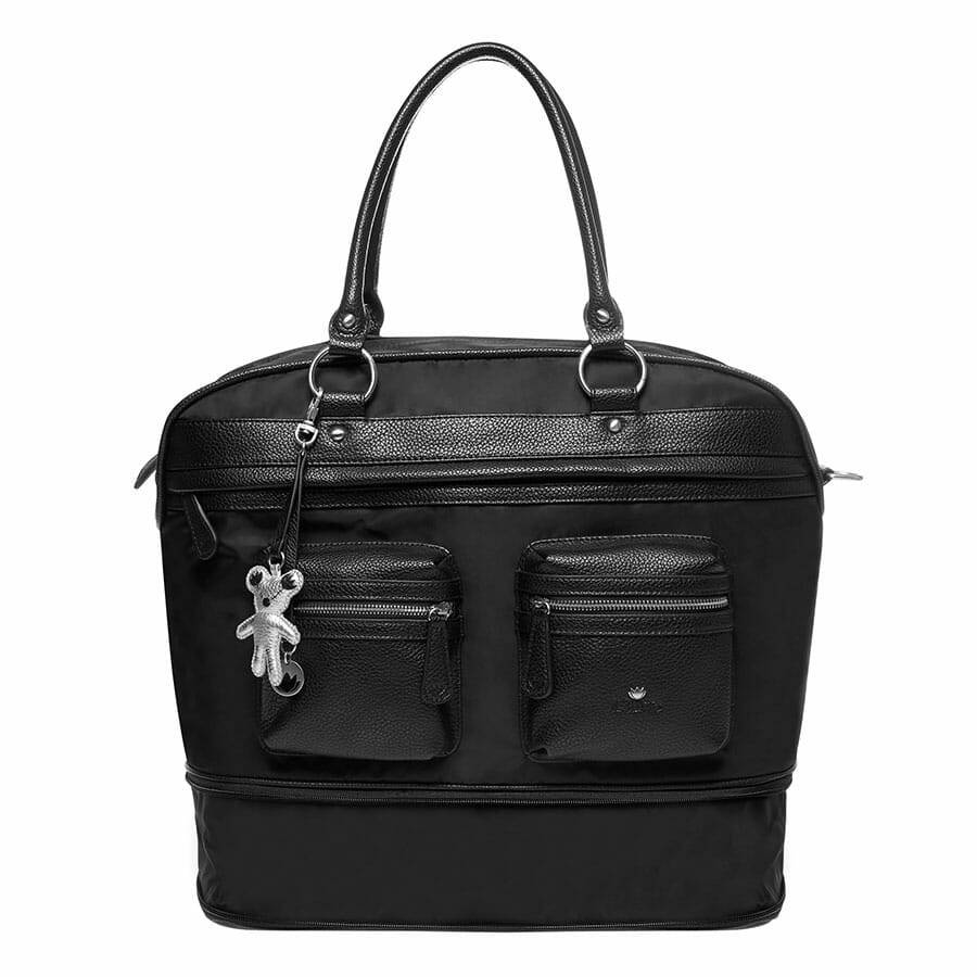 Il Tutto Carrie Weekender Tote BLACK extend