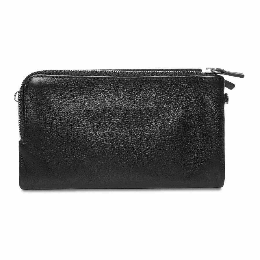 Il Tutto Lexi Leather Mini Bag BLACK BACK