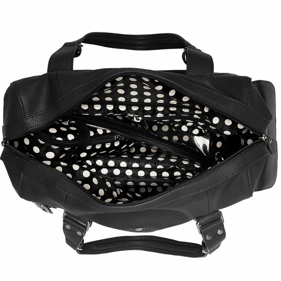 Il Tutto Nico Tote Nappy Bag Black INSIDE