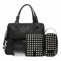 Il Tutto Nico Tote Nappy Bag Black WITH ACCESS