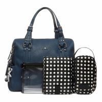 Il Tutto Nico Tote Nappy Bag NAVY WITH ACCESS