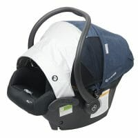 Maxi Cosi Mico Plus Superior Airflow Through Rear and Side Mesh Panels