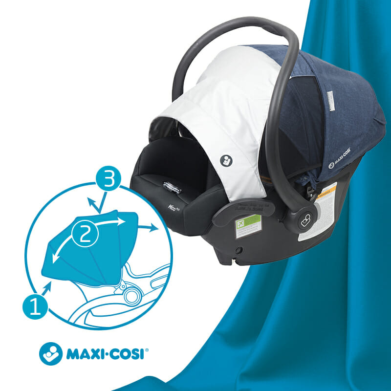 Maxi Cosi Mico Plus CANOPY UPF 50+