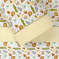 Skip Hop Jungle 3 Pc sheet set Cot