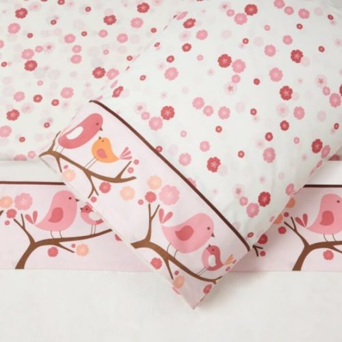 Skip Hop Springtime Birdie 3 Pc sheet set Cot