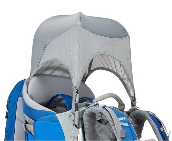 Thule Sapling Child Carrier Backpack Deployable Sun shield