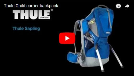 Thule Sapling Child Carrier Backpack Video