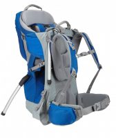 Thule Sapling Child Carrier Cobalt Back