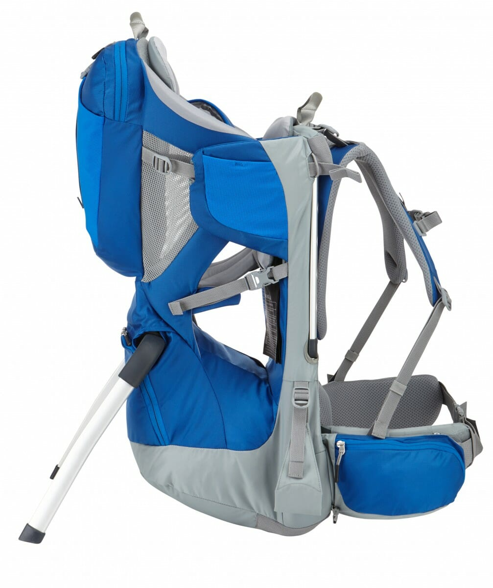 Thule Sapling Child Carrier Cobalt Side