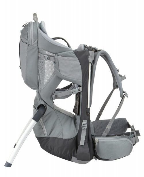 Thule Sapling Child Carrier Dark Shadow Side