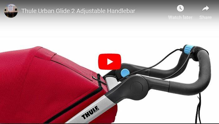 Thule Urban Glide 2 Adjustable Handlebar