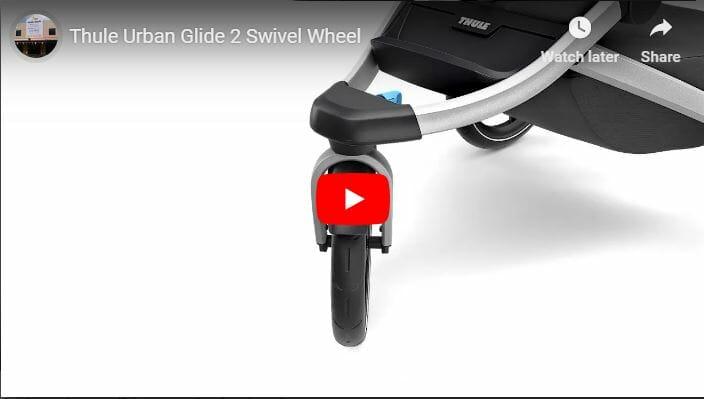 Thule Urban Glide 2 Swivel Wheel