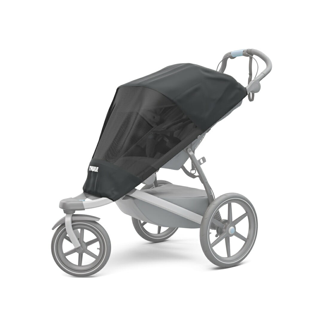 Protective Mesh Cover For Your Thule Stroller.