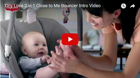 Tiny Love 3 in 1 Close to Me Bouncer Intro Video