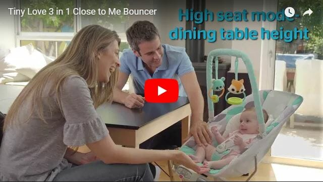 Tiny Love 3 in 1 Close to Me Bouncer Video