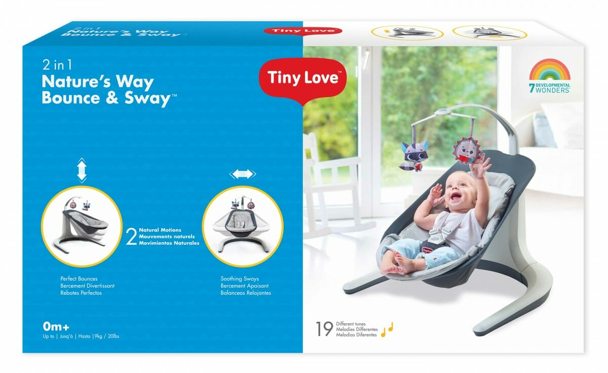 Tiny Love Natures Way Bounce and Sway Packaging