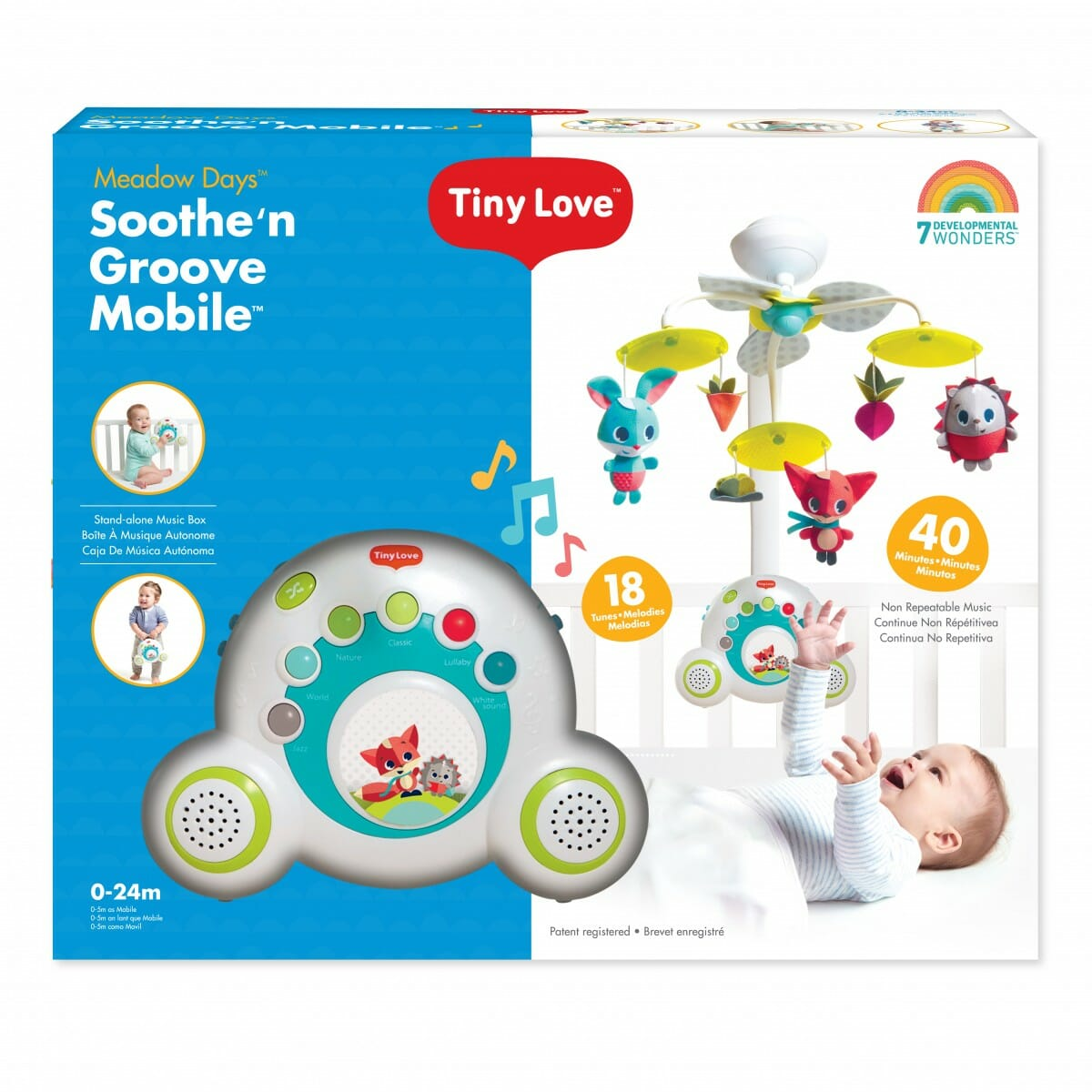 Tiny Love Sooth n Groove Meadow Days packaging
