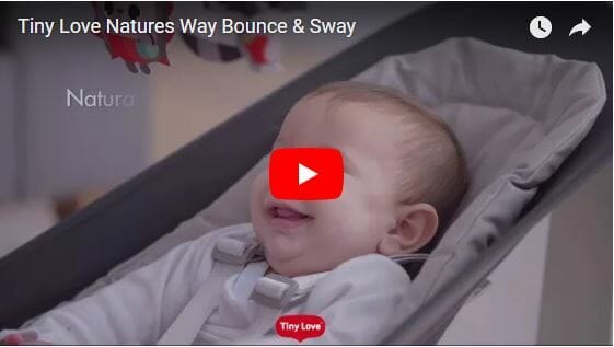 tiny love natures way bounce and sway video