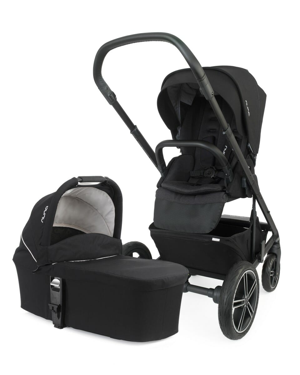 Muma MIXX2 CAVIAR PUSHCHAIR AND CARRY COT