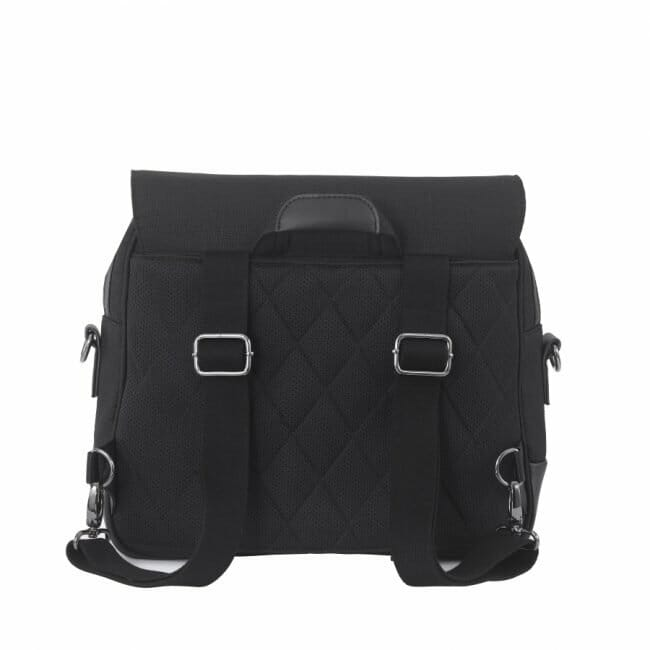 Nuna Daiper Bag Caviar Rear